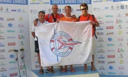 Luca Salati, primo nella categoria M40 Master nel campionato nuoto di fondo