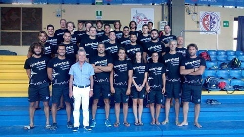 Organigramma squadra maschile