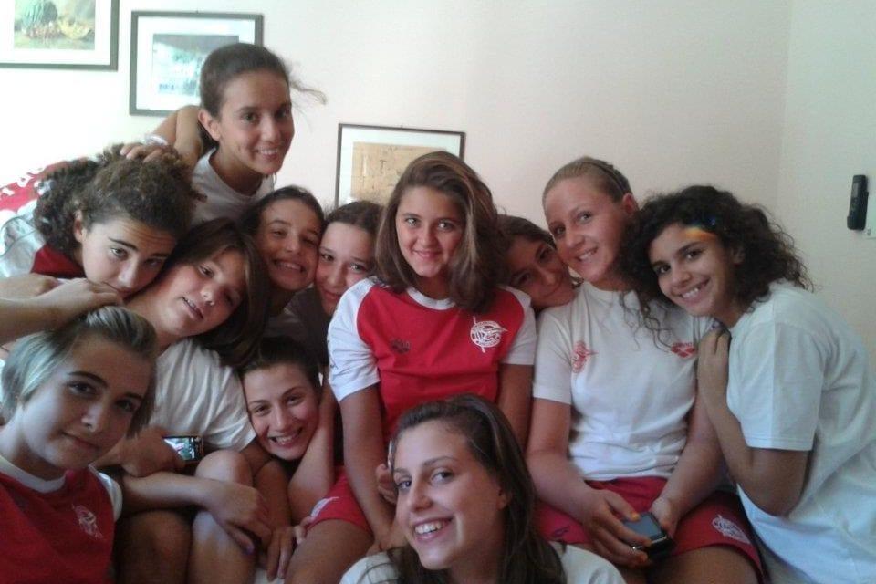 """Le biancorosse  dell'Under 15 promosse  alla """"final-eight"""" di Agosto"""