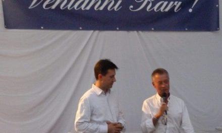 Giglio d'argento al presidente della Rari Nantes Florentia Andrea Pieri