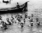 primi nuotatori arno