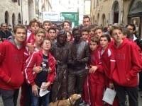 L'under 15 maschile al torneo di Perugia