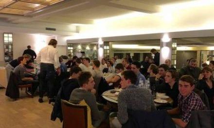 Grande successo alla cena sociale presso il Grand Hotel Mediterraneo