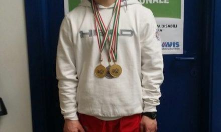 Axel Belig, oro e record nei 200 delfino
