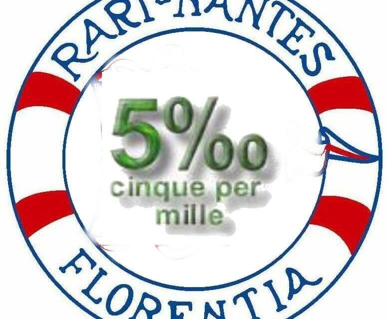 Sostieni la Rari Nantes Florentia con il 5 per mille!!