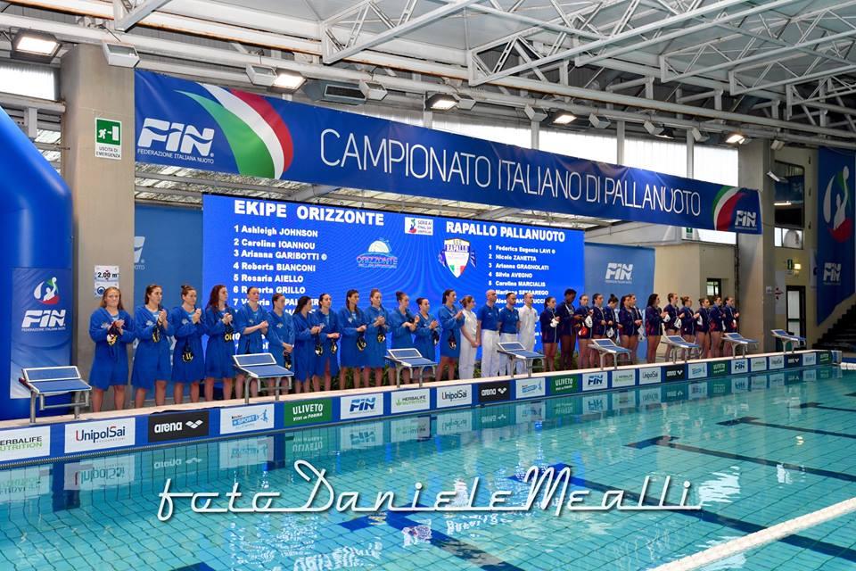 Final _Six_2018_1°Semifinale_LEkipe Orizzonte-Rapallo Pallanuoto
