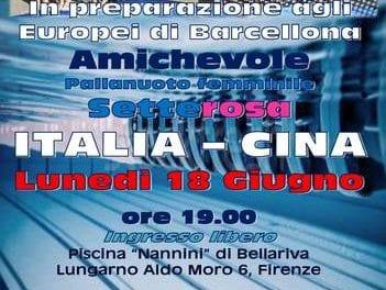 Bellariva si tinge di rosa, a Firenze l'amichevole Italia-Cina