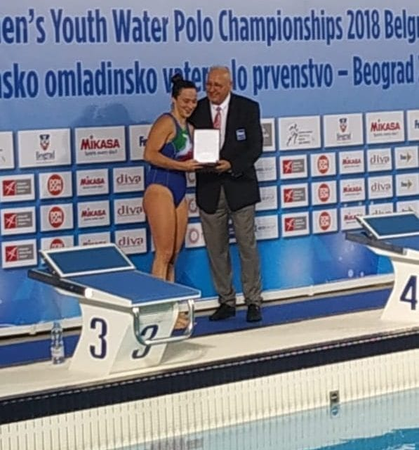 Caterina Banchelli, miglior portiere ai mondiali U18 femminili