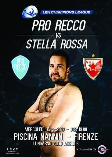 Champions: Pro Recco- Stella Rossa, cominciata la prevendita