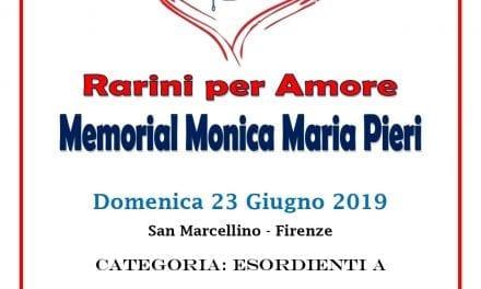 San Marcellino ospita il I° Memorial Monica Maria Belardi Pieri