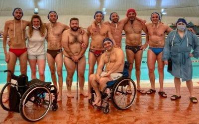 al via il primo campionato italiano di pallanuoto paralimpicA finp
